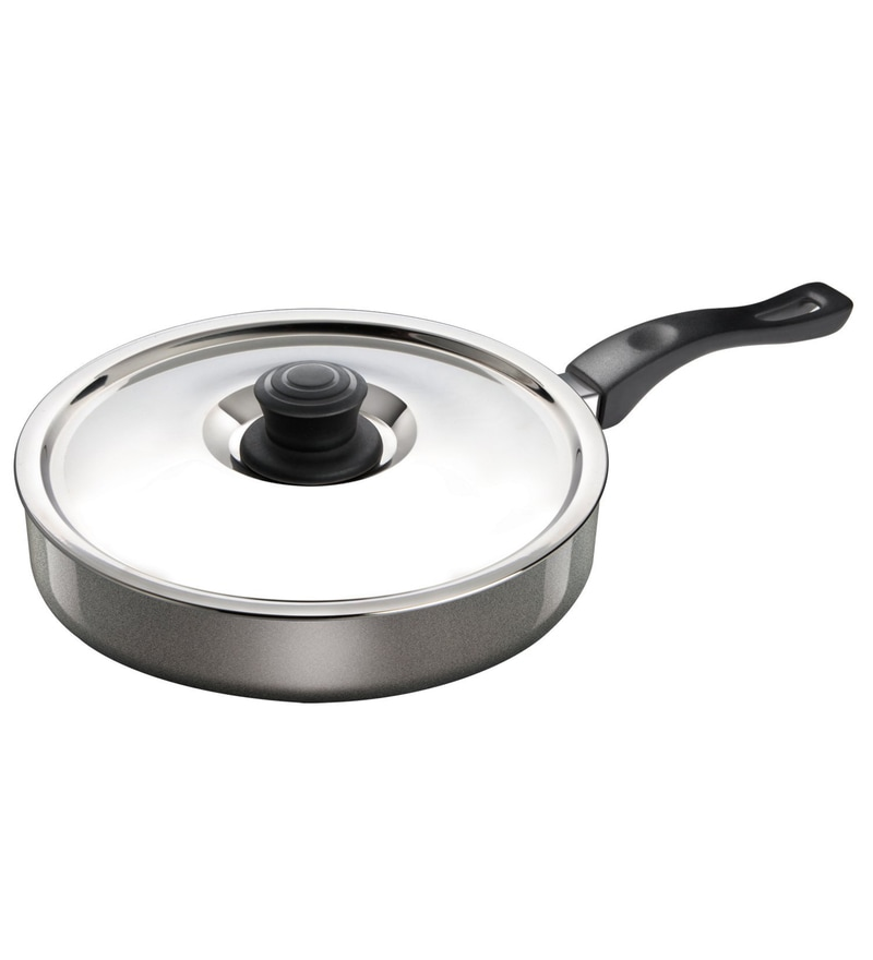 Aluminium Non-Stick Fry Pan with Lid by Calypso