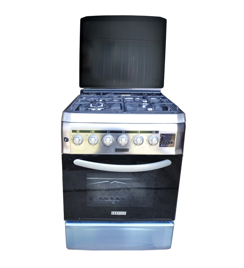 Carysil 4 Burner Stainless Steel Gas Cooking Range (Model: FSCR-01)