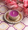 Pink Wax Mirror Tea Light Holder by Candles N Beyond