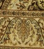 Brown Wool 86 x 60 Inch Persian Design Hand Knotted Area Rug by Carpet Overseas