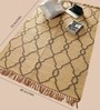 Camel Jute 72 x 49 Inch Area Rug by Carpet Overseas