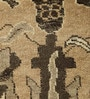 Cream Wool 59 X 38 Inch Kilim Design Hand Knotted Carpet by Carpet Overseas