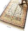 Carpet Overseas Green Cotton 72 x 49 Inch Geometric Area Rug