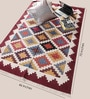 Multicolour Cotton 70 x 46 Inch Area Rug by Carpet Overseas