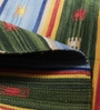 Multicolour Cotton 73 x 46 Inch Area Rug by Carpet Overseas