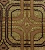 Carpet Overseas Multicolour Wool 46 x 73 Inch Geometrical Design Hand Knotted Are