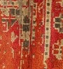 Rust & Grey Wool 104 x 66 Inch Kilim Design Hand Knotted Area Rug by Carpet Overseas