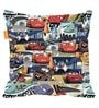 Cars Comics Digital Printed Bean Bag XXL Filled with Beans by Orka(With Small - cushion Inside)