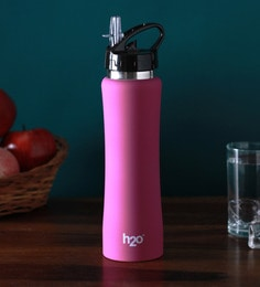 Celebrationgift H2O Cylinder Stainless Steel 750 ML Bottle