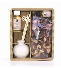 Ceramic Cherry Blossom Reed Diffuser With Oil & Potpourri