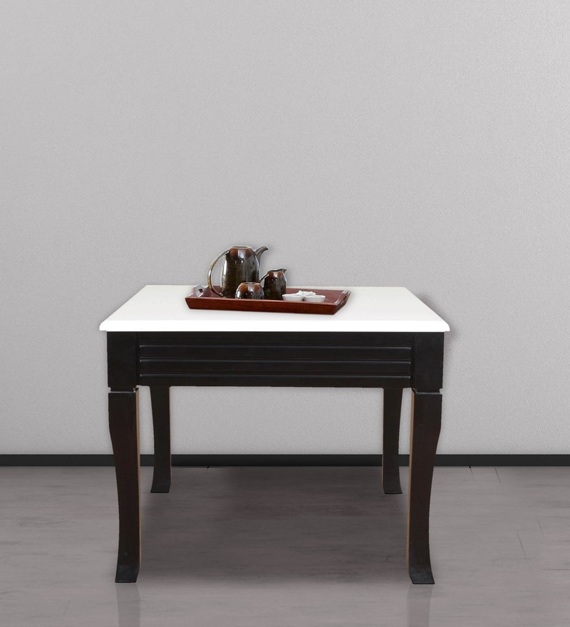 Centre Table in White & Wenge Finish by Crystal Furnitech