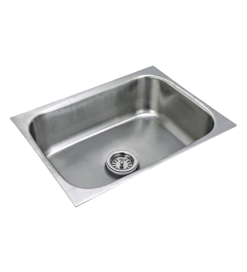 Century Steel Kitchen Sink (Model No: Eu-1816)
