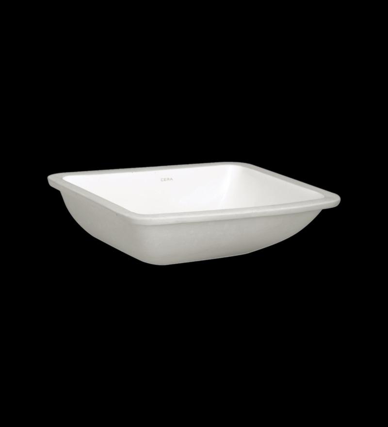 Cera Camry Mini White Ceramic Wash Basin