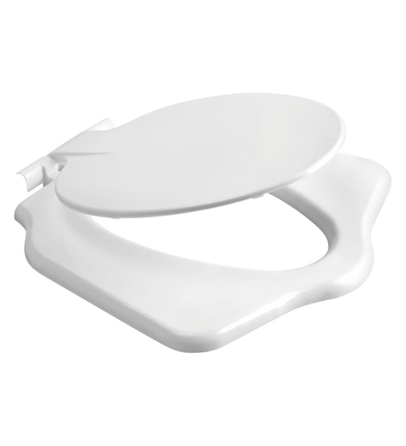 Cera Ceranglo White PVC Anglo Indian Water Closet Seat Cover