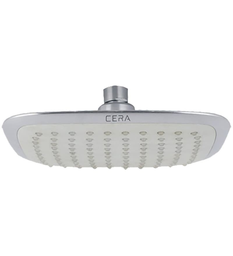 Cera Cg 417 Square Chrome Stainless Steel 7.9 Inch Overhead Shower