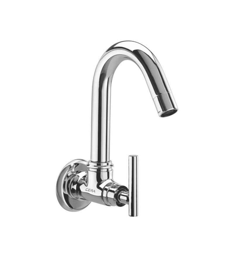 Cera Dew Quarter Turn Cq 317 Chrome Plated Brass Sink Cock