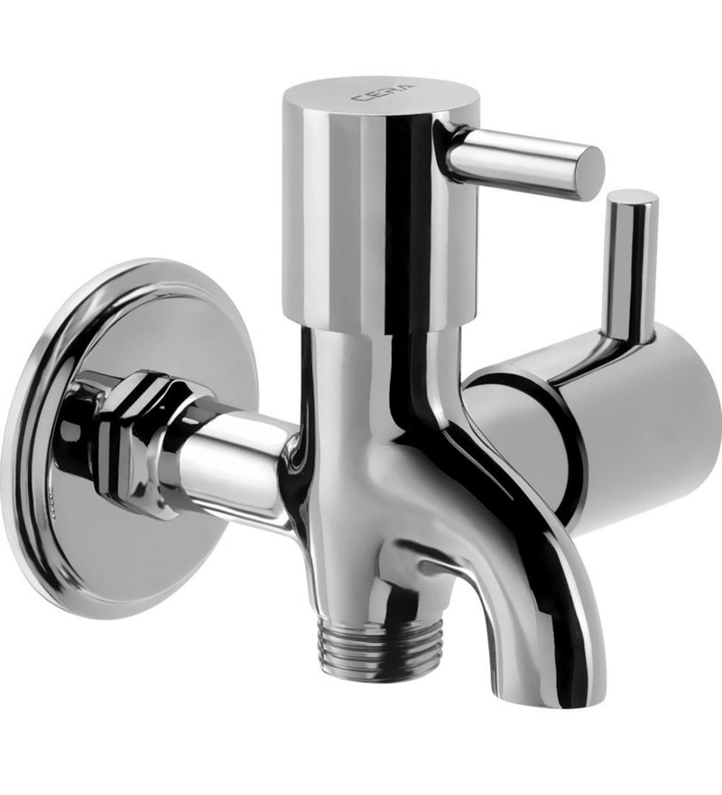 Cera Ocean Quarter/Half Turn Cl 206 2-Way Chrome Plated Brass Bib Cock