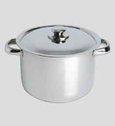 Chef Direct Stainless Steel Stock Pot With Lid 5.2 Liters Chef Direct Eco-Inox - Cooking Pot Olla Inox Con Tapa