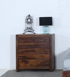 Acropolis Chest Of Six Drawers In Provincial Teak Finish