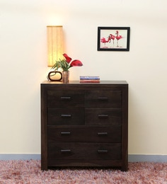 Acropolis Chest Of Six Drawers In Warm Chestnut Finish
