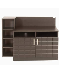 Chocolate Entertainment Unit In Cola Rain Colour By Godrej Interio