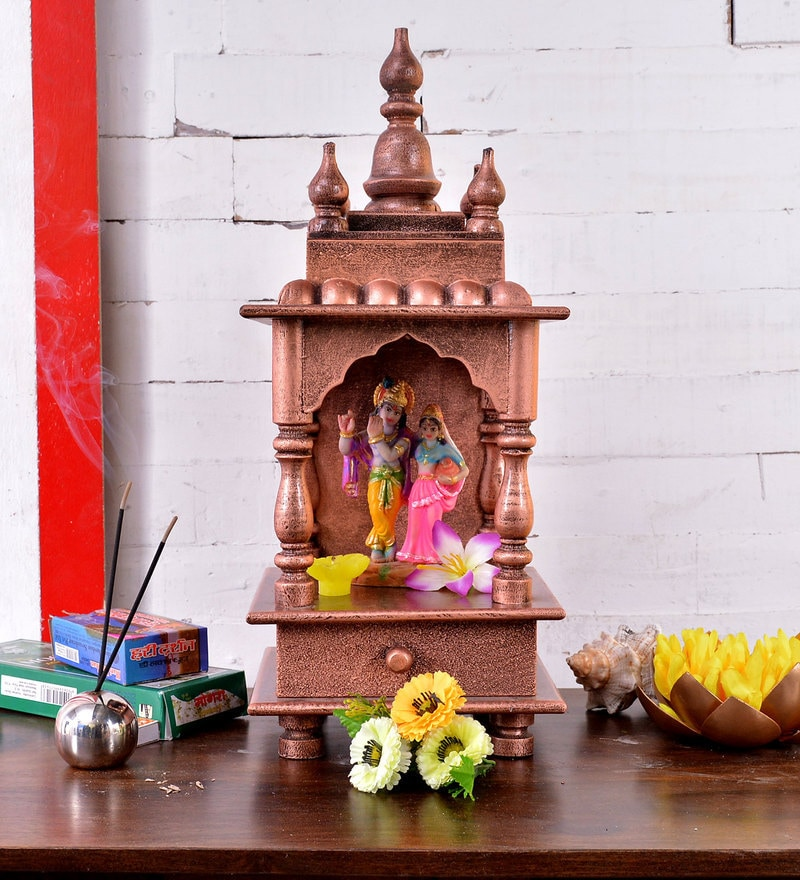 Buy Brown Wooden Durable Temple by Aarsun Woods Online - Temples