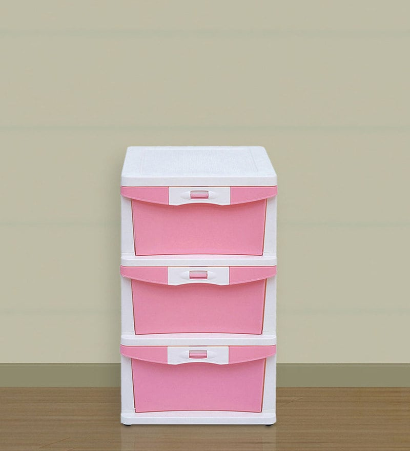 Chester Series 23 Three Drawer Storage by Nilkamal