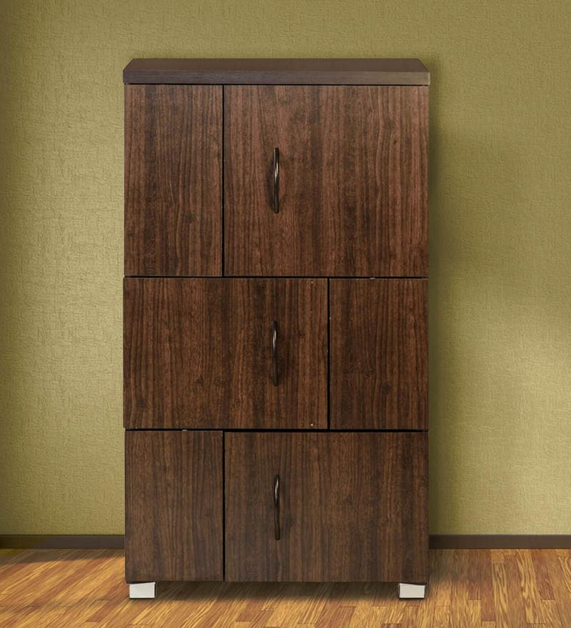 Chikako Storage Cabinet in Wenge Finish by Mintwud.