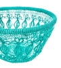 Chumbak Basketful of Love Blue Iron Basket