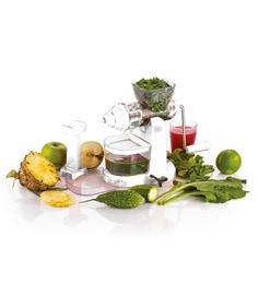 Cierie Jumbo Fruit & Vegetable Premium Manual Hand Juicer Mixer Grinder With Steel Handle & Waste Collector