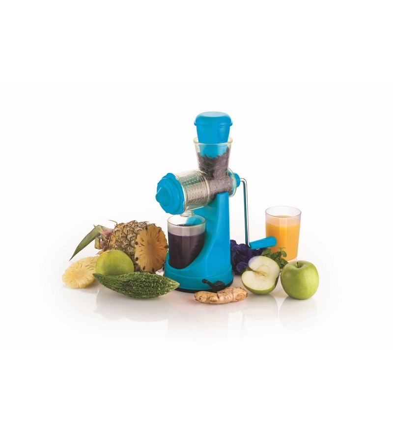 Cierie Blue Abs Fruit & Vegetable Hand Juicer