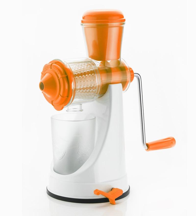 Cierie Fruit & Vegetable Manual Juicer Mixer Grinder with Steel Handle