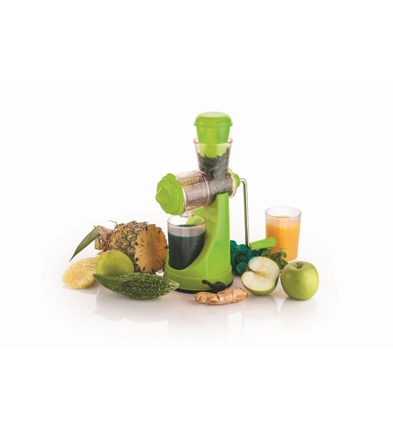 Cierie Green Abs Fruit & Vegetable Hand Juicer