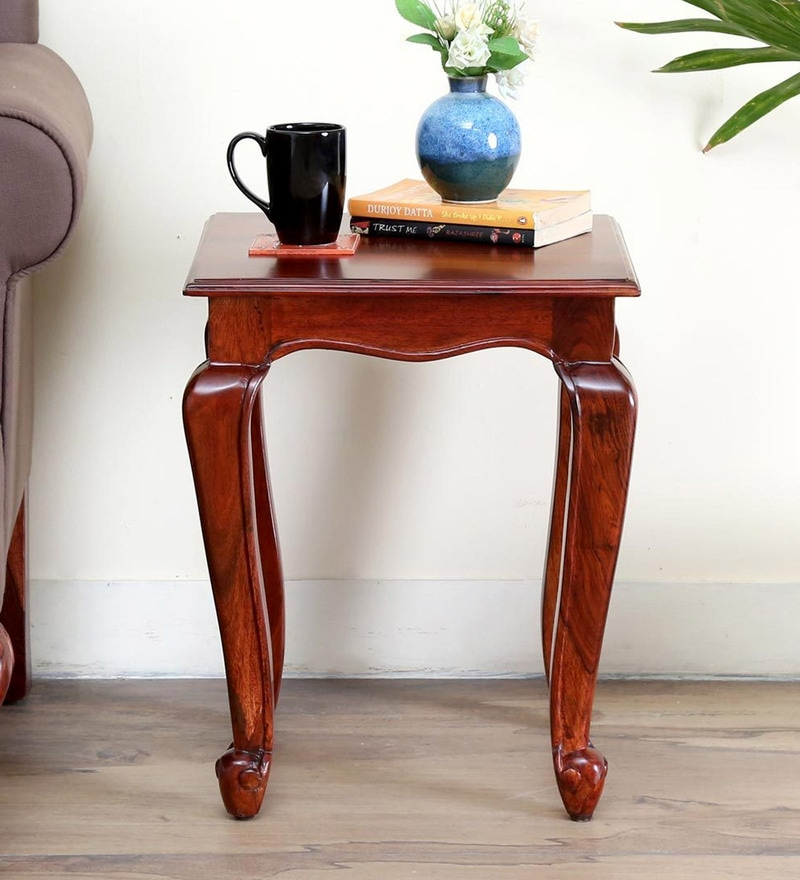 Clifford End Table in Honey Oak Finish by Amberville