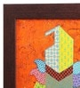Multicolour Canvas 15 x 0.8 x 15 Inch Paisley Framed Wall Art Painting by ClasiCraft