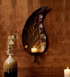 Copper Metal Tea Light Holder