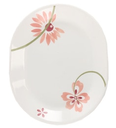 Corelle Asia Pretty Pink Oval Serving Tray