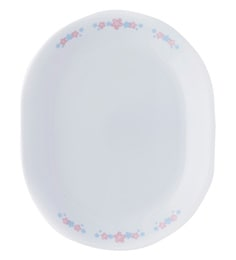 Corelle India Impressions Melody Oval Serving Tray