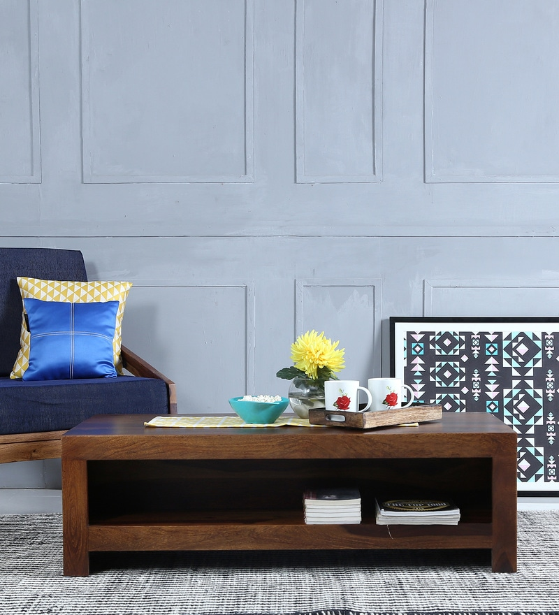 Acropolis Coffee Table in  Provincial Teak Finish by Woodsworth