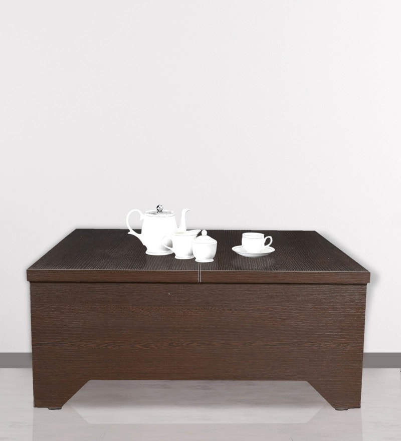 Coffee Table with top storage in Wenge Finish by Crystal Furnitech