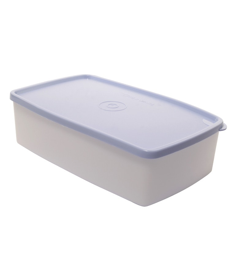 Tupperware Cool and Fresh Flat 1300 ML Storage Container with Lid - Set of 2