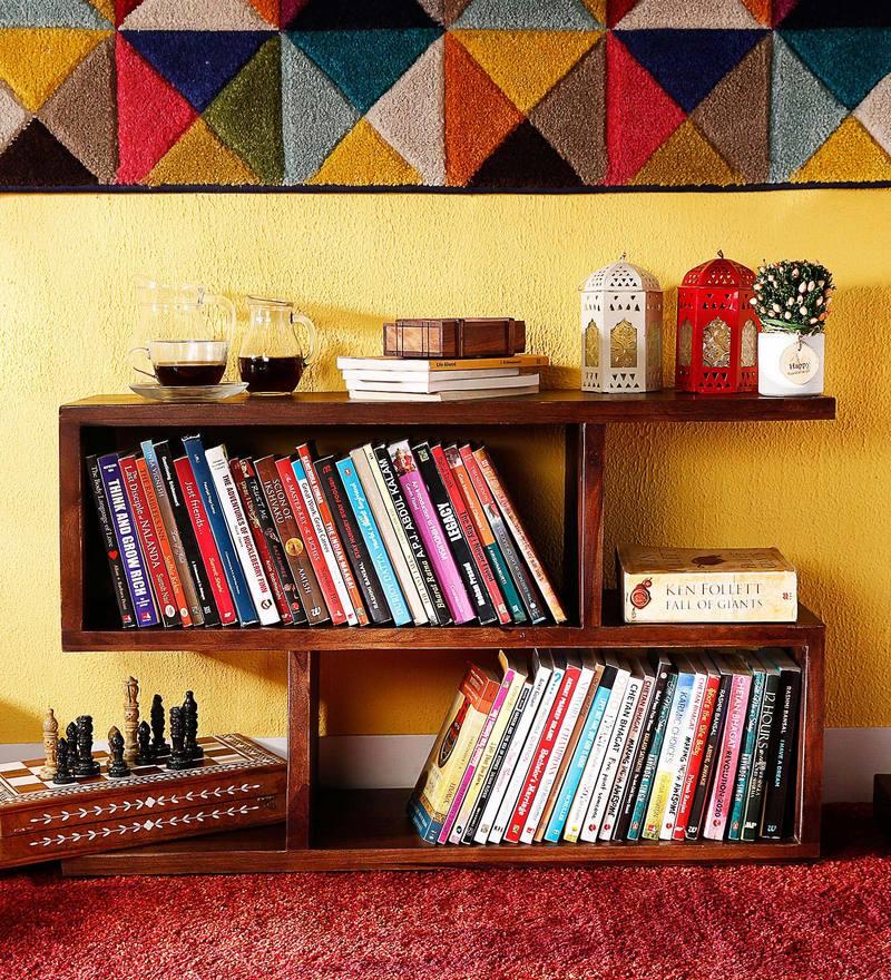 Rosendale Book Shelf in Provincial Teak Finish by Woodsworth