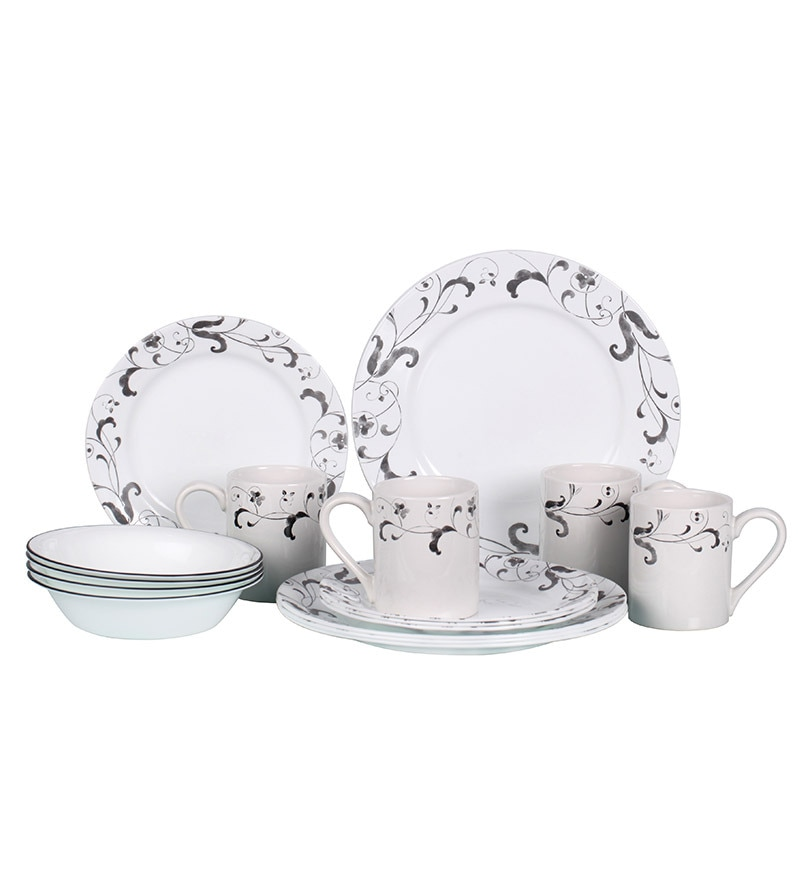 Corelle India Impressions 16 Piece Dinner Set by Corelle Online