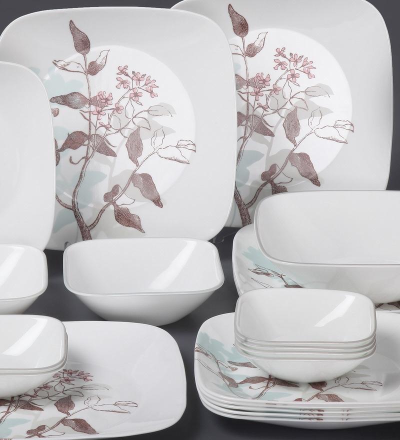 Buy Square Round Livingware Twilight Grove Vitrelle Glass