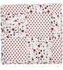 Dot Printed Kids Quilt in White Colour by Cocobee