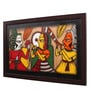 Canvas 16 x 2 x 26 Inch Handmade Framed Rajasthani Style Phad Painting by Cocovey