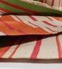Contrast Living Multicolour Wool & Cotton 78 x 54 Inch Kilim Area Rug
