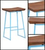 Mirai Bar Stool in Acacia Wood by Bohemiana