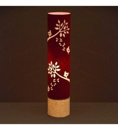 Craftter Red Singing Bird Floor Lamp