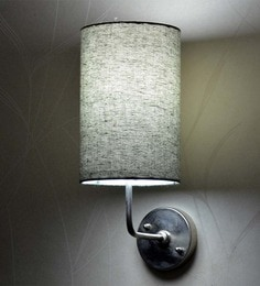 Craftter Black Round Wall Lamp at pepperfry